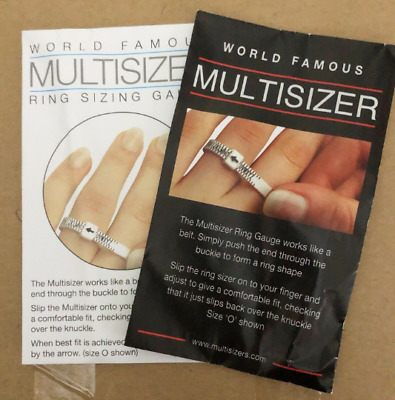 Ring Sizer Guage - Sizes A - Z+2