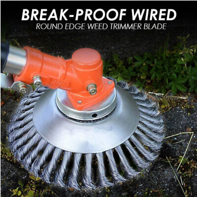 8 inch Break-Proof Wired Round Edge Weed Trimmer Blade