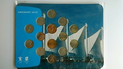 Vancouver 2010 Olympic Paralympic winter Games coin collection mint