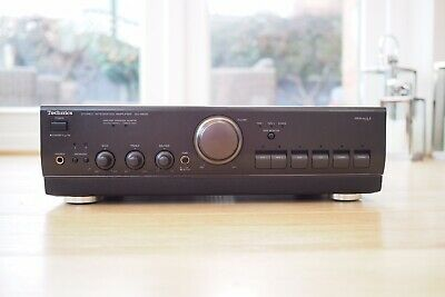 Technics SU-A600 Vintage Hi Fi Separates Stereo Amplifier With Phono stage