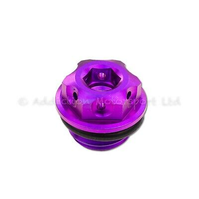 Purple Titanium Engine Oil Filler Cap Plug for Ducati Panigale 1199, 1299, V4