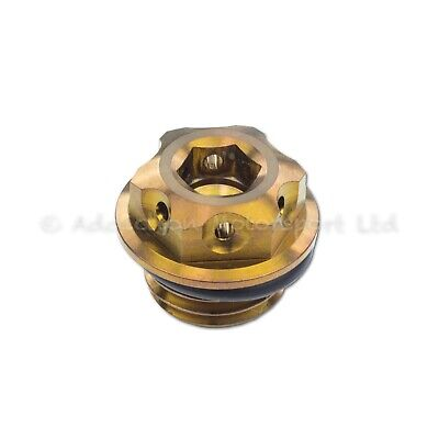 Bronze Titanium Engine Oil Filler Cap Plug for Ducati Panigale 1199, 1299, V4