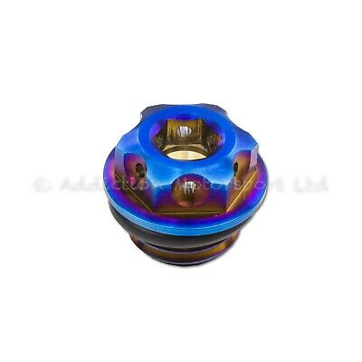Neo Titanium Engine Oil Filler Cap Plug for Ducati Panigale 1199, 1299, V4
