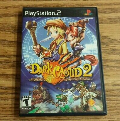Dark Cloud 2 (Sony PlayStation 2, 2003) PS2 Complete game VG Black Label
