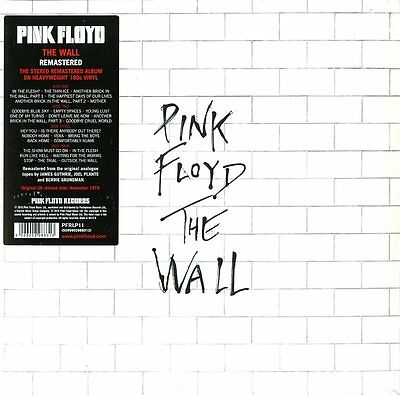 Pink Floyd the Wall (Remastered) Double Vinyl LP 180 Grams New Sealed