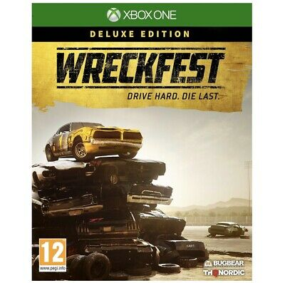 Wreckfest Deluxe Edition Xbox One Pre-Order Released 27/08/19
