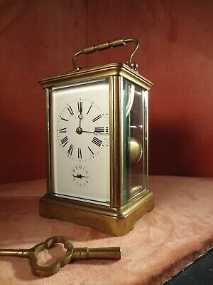 Large Quarter Strike Grande Sonnerie Carraige Clock Tiffany