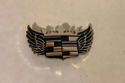 Men Women Silver Metal Fashion Bottle Opene Belt Buckle Car Sign Cadillac Emblem