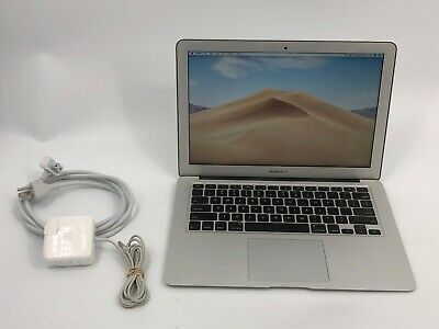 "2015 Apple MacBook Air 13"" Laptop 128GB SSD 1.6GHz 4GB RAM A1466 206 cycles xw9"