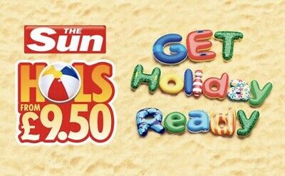 Sun Holidays From £15.00 Booking Codes All 10 Token Code words saver online code