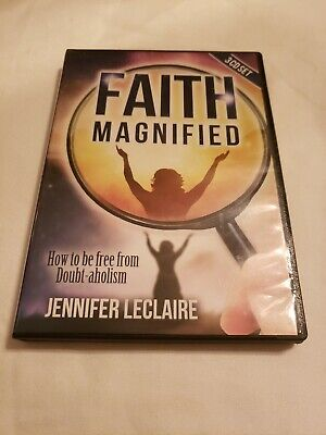 Faith Magnified Jennifer Leclaire Root Out Doubt (3 Audio CD Set )