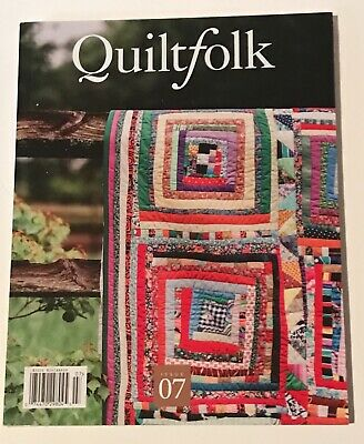 Quiltfolk Magazine - Issue 07 - Louisiana Quilts - Clementine Hunter - NEW