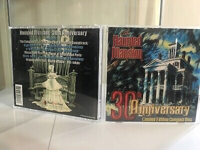The Haunted Mansion 30Th Anniversary Gold Cd Disneyland Attraction Soundtrack.!