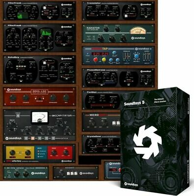 SOUNDTOYS 5 32&64 Bit Windows only Download After Purchase!