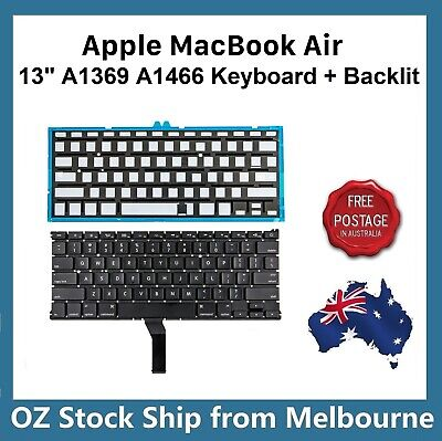 "Keyboard For Apple MacBook Air 13"" A1369 A1466 2011 2012 2013 2014 2015 2017"