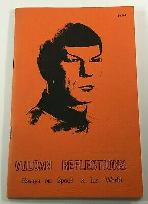 VULCAN REFLECTIONS Essays on Spock and his world - 1975 Digest FANZINE RARE HTF