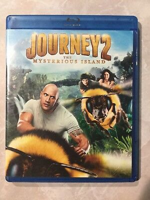 Journey 2: The Mysterious Island (Blu-ray Disc, 2012) The Center Of The Earth 2