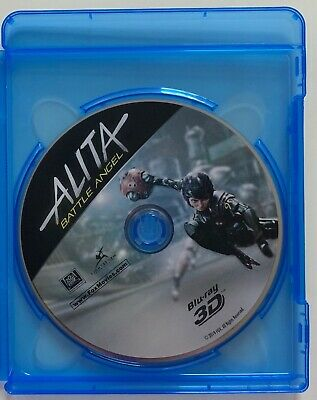 Alita Battle Angel 3D Blu Ray 1 Disc Only + Case No Artwork No Slipcover Buy It