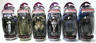 New Sealed Hasbro Titanium Series Battlestar Galactica Lot Raptor Raider Viper