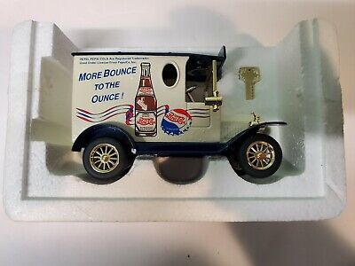 """Pepsi Cola """"More Bounce To The Ounce"""" Diecast Bank"""