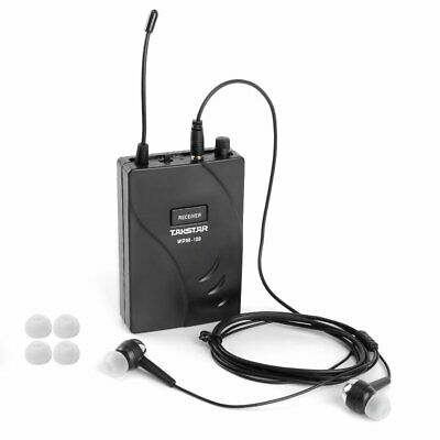 Takstar WPM-100 Wireless Monitor System Stereo Audio Receiver + Earpiece Hot