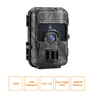 16MP 1080P Trail Camera Home Farm Scouting Waterpoof LED IP66 Motion Detection