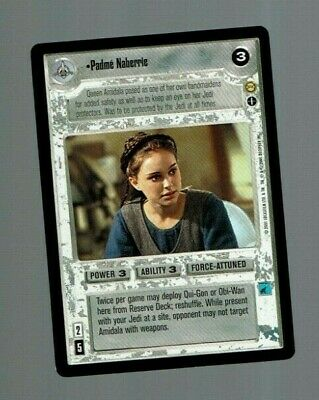 Star Wars CCG Tatooine SWCCG Padme Naberrie *Non-AI*