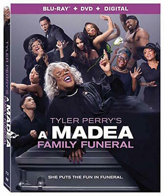 A Madea Family Funeral - [Blu-Ray/Dvd Combo Pack] - New Unopened - Tyler Perry
