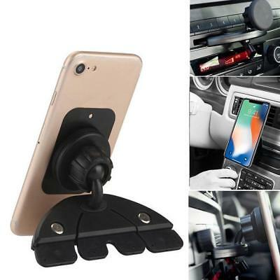 Car Magnet Slot Magnetic Holder Stand For iPhone Cell Phone GPS