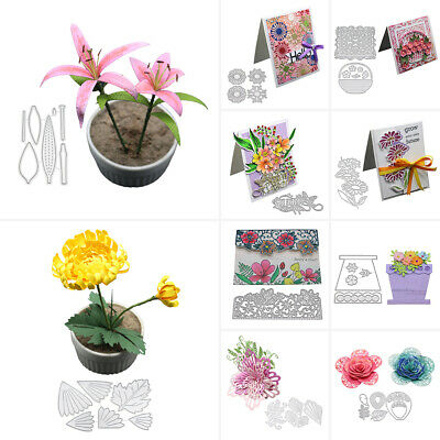 Lace Flower Decor Metal Cutting Dies DIY Scrapbook Embossing Paper Card Craft