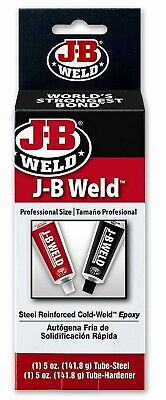 J-B Weld 8280 Original Professional Size Steel Reinforced Epoxy, 10 Oz