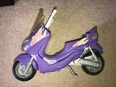 Barbie Moped /Vespa/Scooter Pink, Purple&White. Reasonable Condition