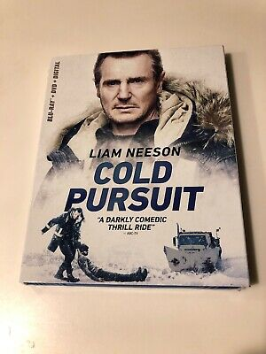 NEW - Cold Pursuit (Bluray + DVD + Digital)  w/Slipcover