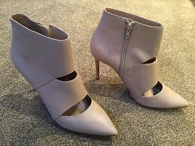 *NEW* Dune Adrianne Shoe Ankle Boots - Plaster Pink Nude Leather UK 6 £99