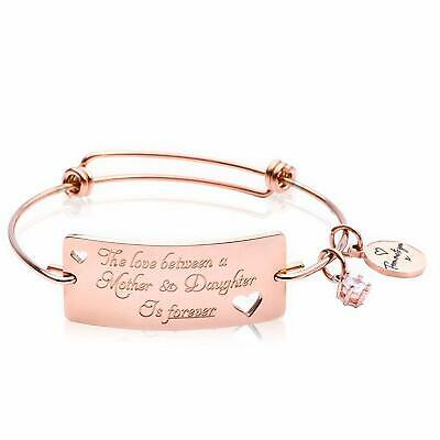 Expandable Mother Daughter Bracelets - ?The Love between a  18K  (18K Rose Gold)