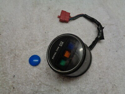 Honda Cd Cb ? Idiot Warning Lights Clock Set Dash Assy