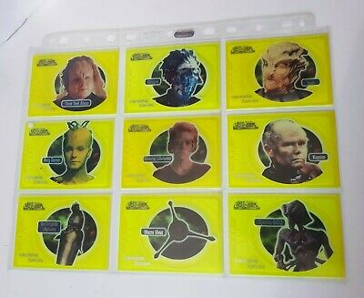 Star Trek Voyager: CLH Trading Card Chase Set IS1-IS9 (Skybox, 1999)