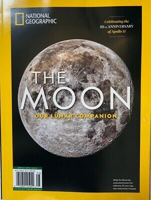 NATIONAL GEOGRAPHIC THE MOON 2019 APOLLO 50 ANNIVERSARY science life time  1969