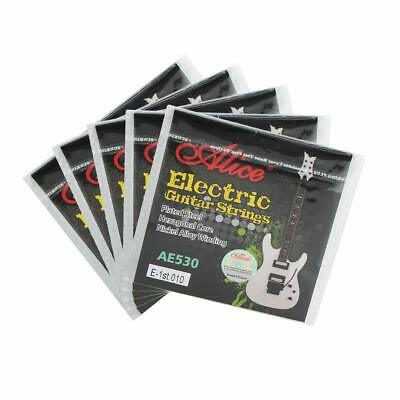 5 x Single Electric Guitar Strings 9s 10s Top E 1st Plain Steel Thinnest String