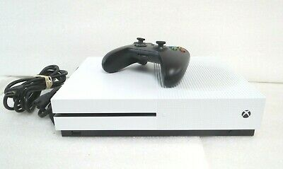 Microsoft Xbox One S 500GB Model 1681 White Home Gaming Console A
