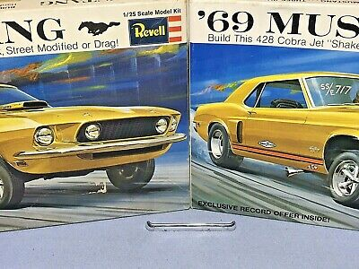 VINTAGE MPC FORD Mustang Turbo Cobra & Snake Bite Model Kit