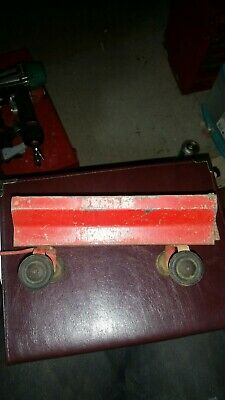 Vintage ERTL Pressed Steel Farm Trailer Flare Box Wagon Red-Made in USA