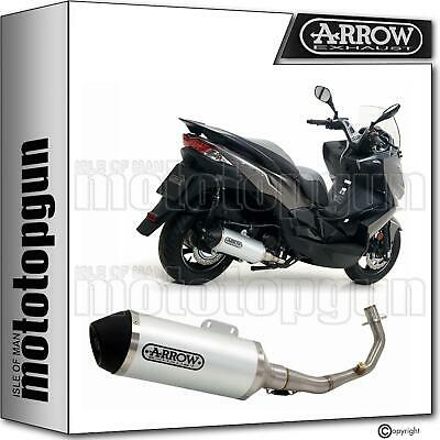 Arrow Full Silencer Cat Hom Urban Black Kawasaki J300 J-300 2017 17 2018 18