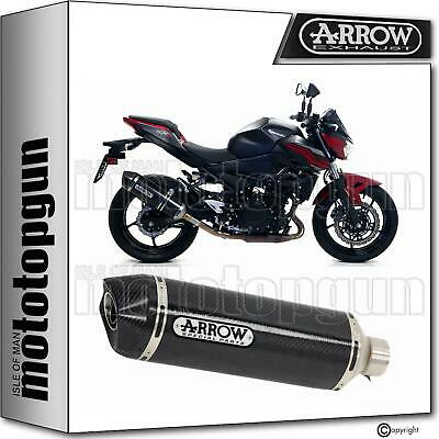 Arrow Silencer Homologated Race-Tech Cc Carbon Kawasaki Z-400 Z400 2019 19