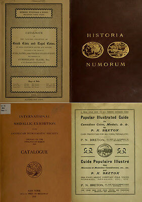160 Rare Books On Numismatics & Coins, Ancient, Greek, Roman, Islamic - Vol1 Dvd