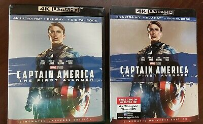 Captain America: The First Avenger (4K Ultra HD and Blu-ray) - No Digital