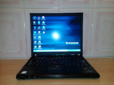 PC PORT. LENOVO THINKPAD T60 WIFI/Core2duo/Ram:3Go/Hdd:100g/Bat:2h30/Chargeur