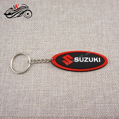 Cool Motorcycle Rubber Keyring Keychain Key Ring Key Chain For Suzuki Red GSXR