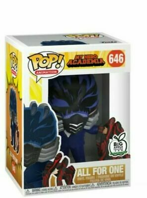 Funko Pop! My Hero Academia All For One #646 Big Apple Exclusive Pre-Order NEW!