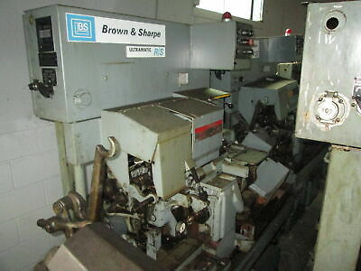 "Brown & Sharpe Ultramatic R/S 1/2"" Capacity 00 208V 3Ph Automatic Screw Machine"